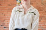 Thoughtful Style | The Embroidered Blouse