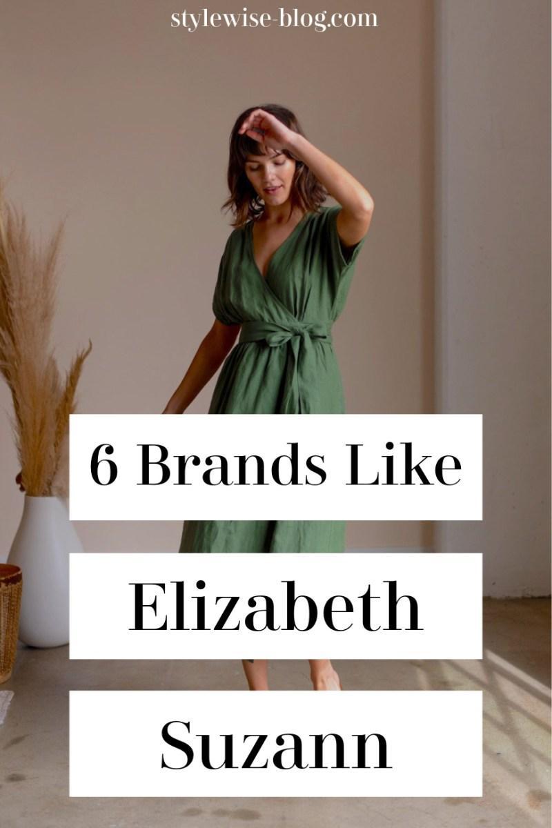 6 sustainable brands like Elizabeth Suzann