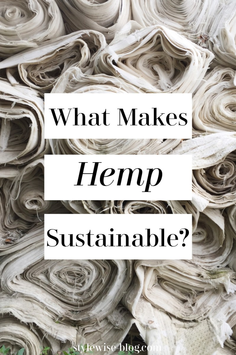 hemp a sustainable textile