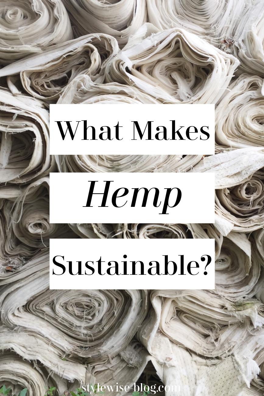 hemp a sustainable textile