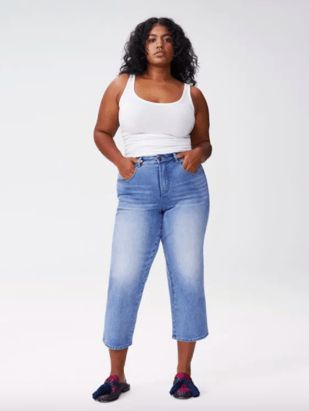 Slow Fashion Curvy Denim