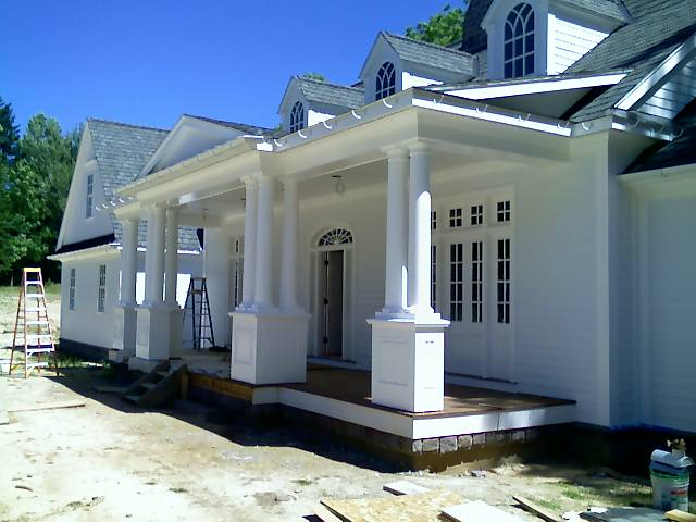 """exterior job in Pittsford, New York"""