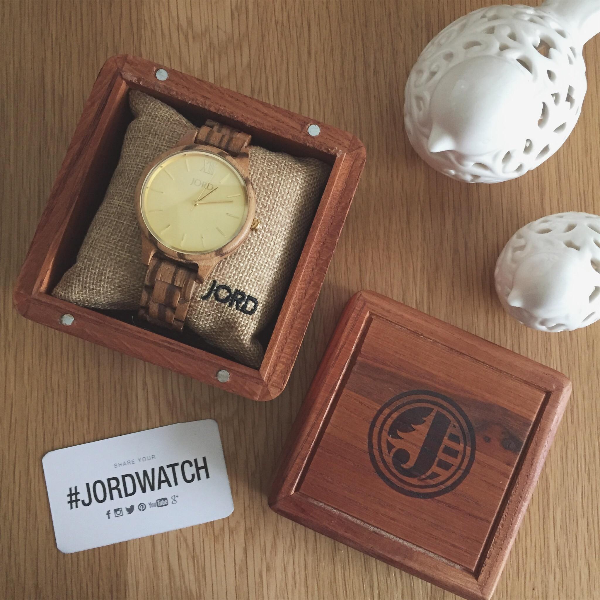 jord watch, wooden watch