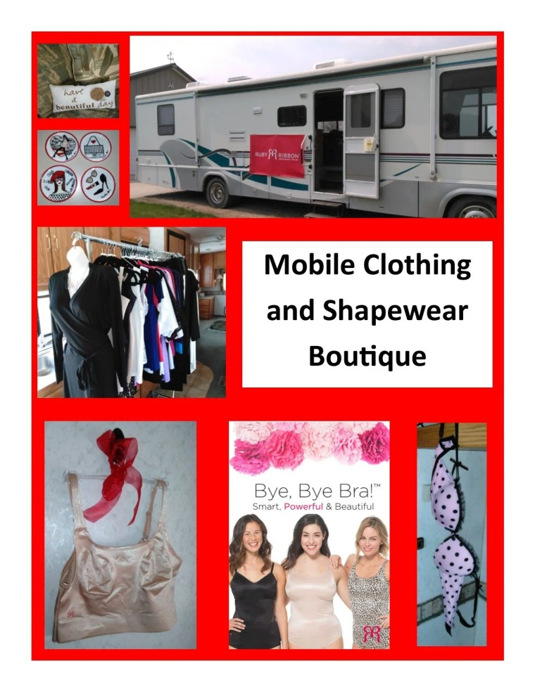 mobile boutique photo collage