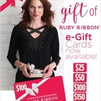 Give the gift of Ruby Ribbon