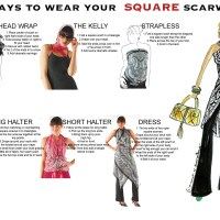 Fashion Tip Friday: How to wear a square scarf