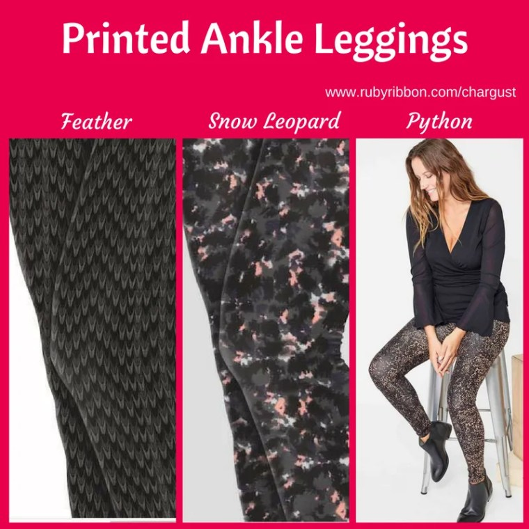 Printed Ankle Leggings