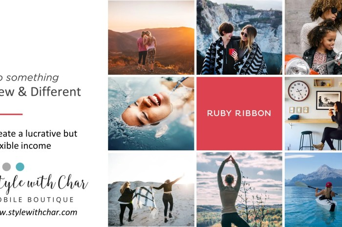There is no typical Ruby Ribbon stylist