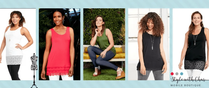 3 ways to wear a Ruby Ribbon Tank Top