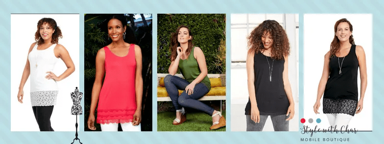 3 ways to wear a Ruby Ribbon Tank Top