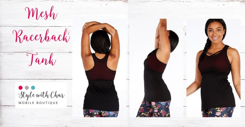 New activewear tanks complete your workout look