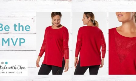 Ruby Ribbon MVP Tunic