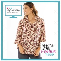 Meadow Blouse is flowy and feminine