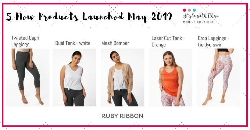 5 new items in May