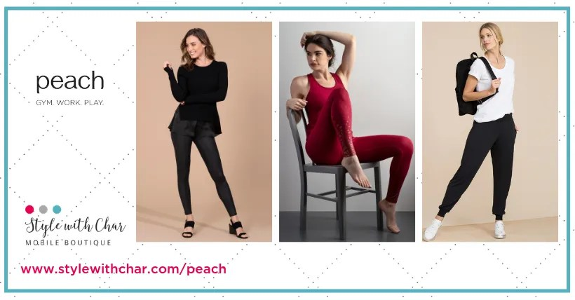 Introducing Peach: Fashion for gym, work and play