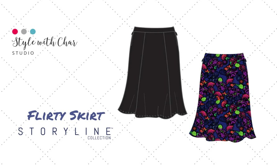 What makes the Flirty Skirt Unique?