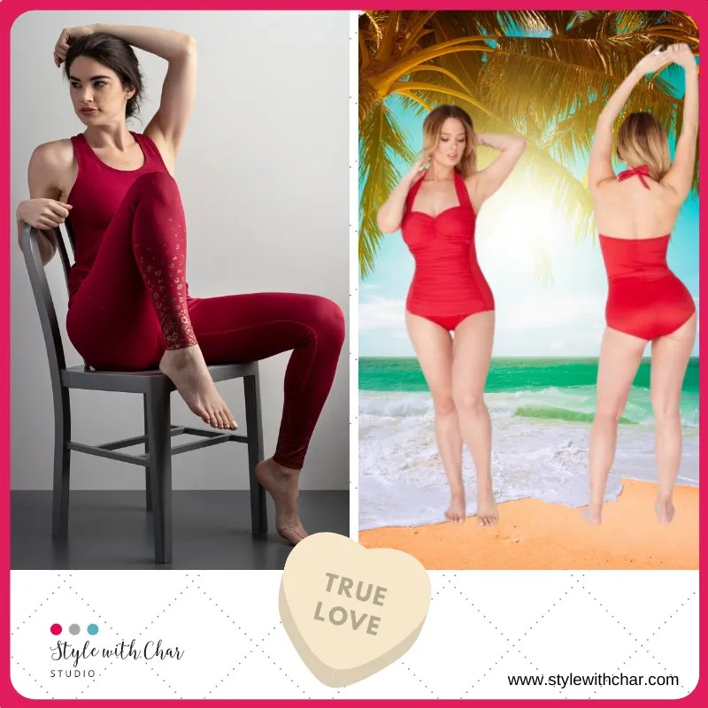 Fun red outfits for Valentines day