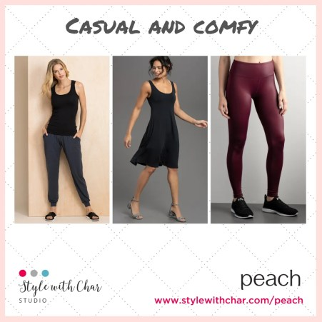 Casual and comfy weekend favorites or a casual Friday look