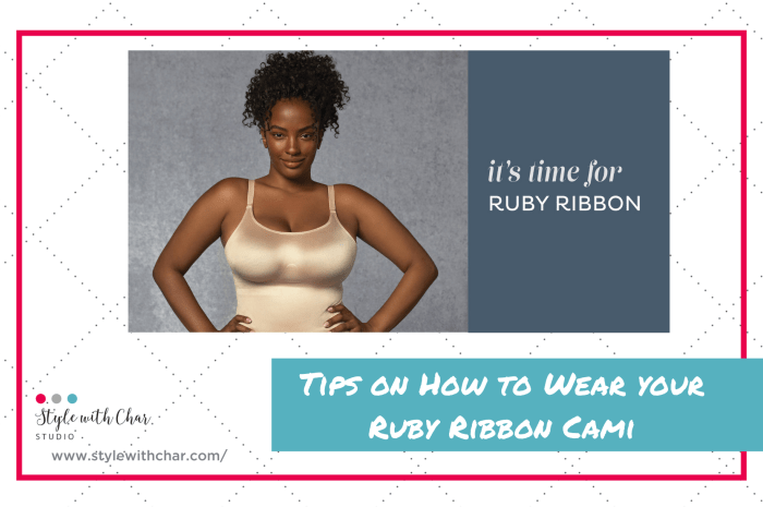The Best Ruby Ribbon Cami Tips from Char