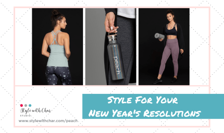 Pics of 3 activewear items: Style For Your New Year's Resolutions