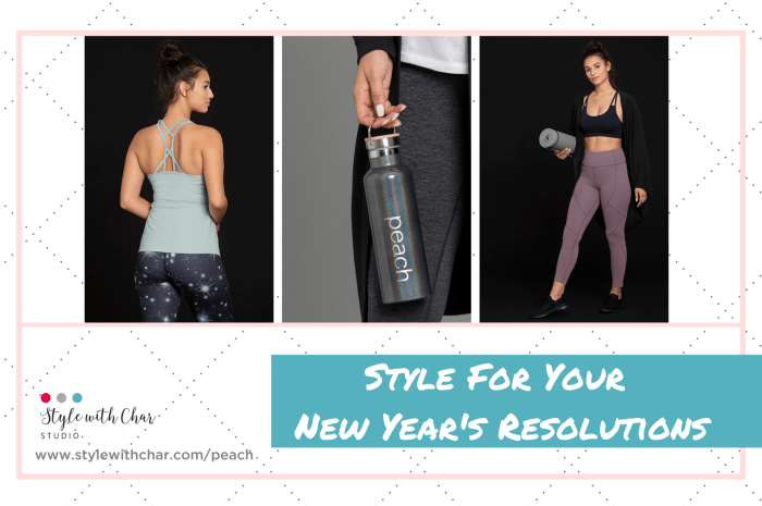 Style For Your New Year's Resolutions