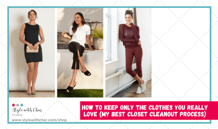 How To Keep Only The Clothes You Really Love (My Best Closet Cleanout Process)