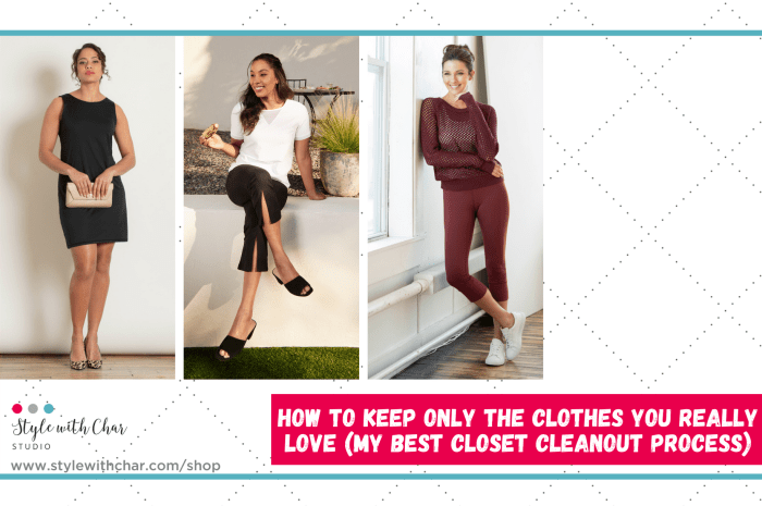 How To Keep Only The Clothes You Really Love ❤️ (My Best Closet Cleanout Process)