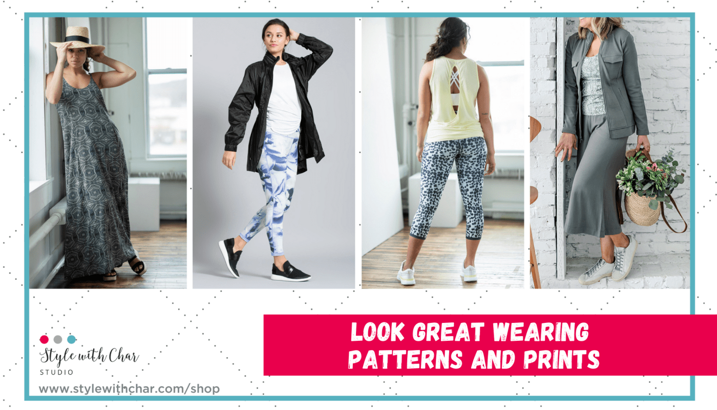 Look great wearing patterns and prints