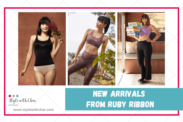 New Arrivals from Ruby Ribbon