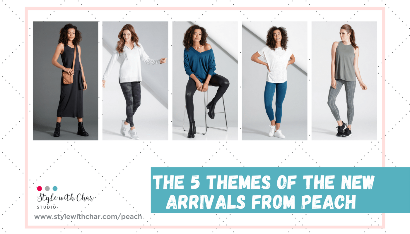 The 5 themes of the new arrivals from Peach