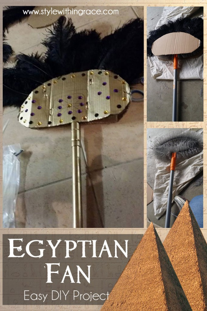 DIY: Egyptian Fan Costume Prop