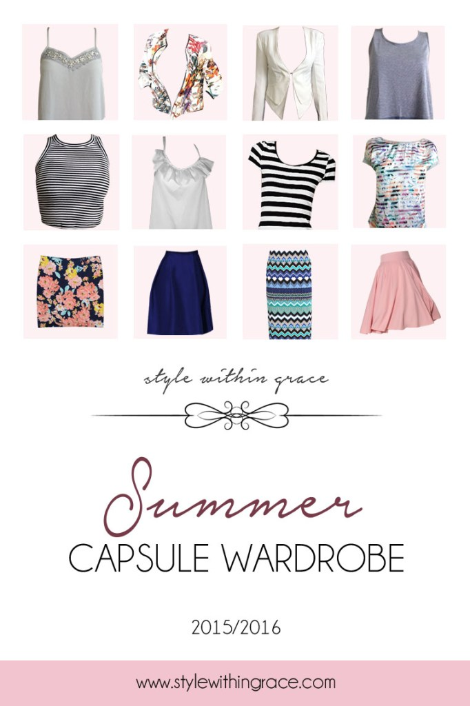 Exploring the Capsule Wardrobe World: Summer 2015/16