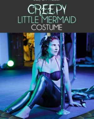 DIY Creepy Little Mermaid Costume