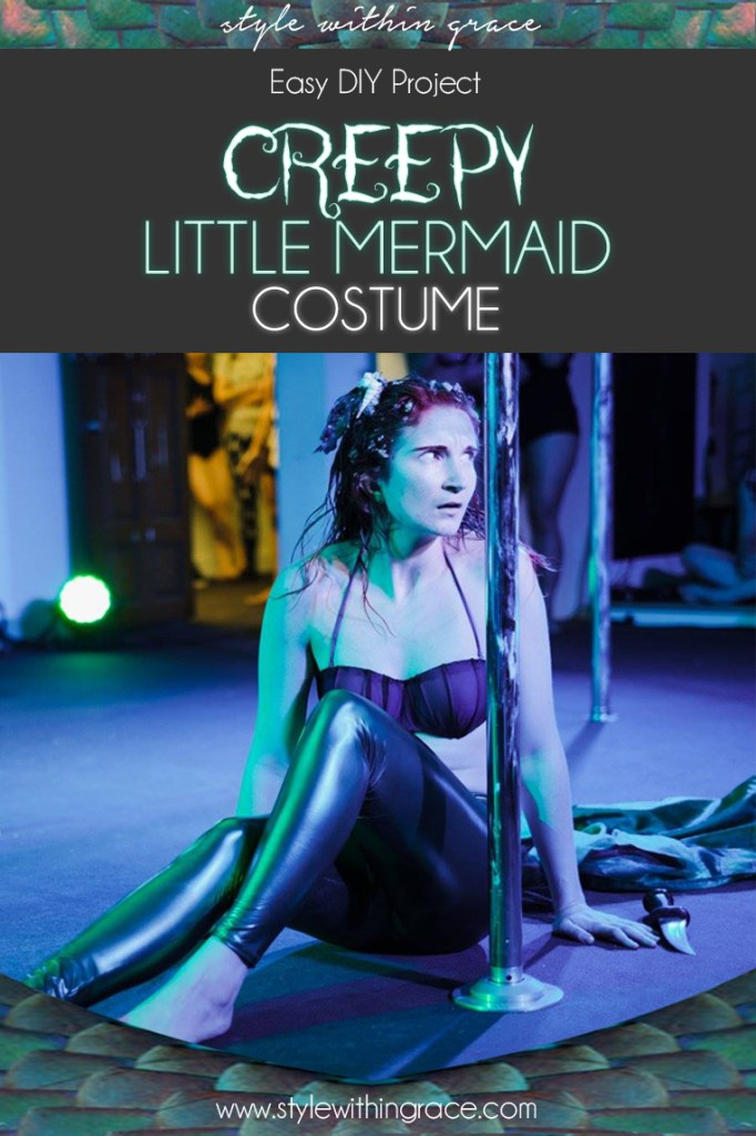 Creepy Ariel the Little Mermaid Costume DIY