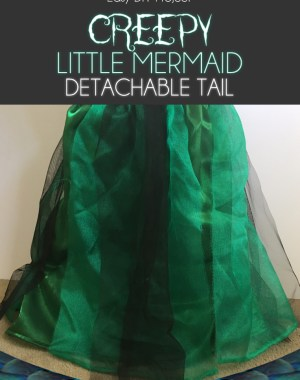 Ariel Little Mermaid Detachable Tail