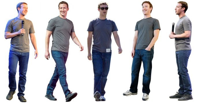 Mark Zuckerberg Style Uniform
