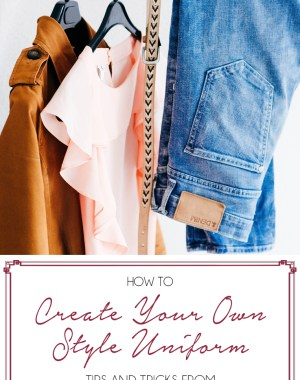 Style Uniforms: How to Create Your Own