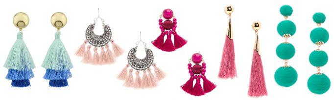 Summer Wardrobe Essentials - Statement Earrings