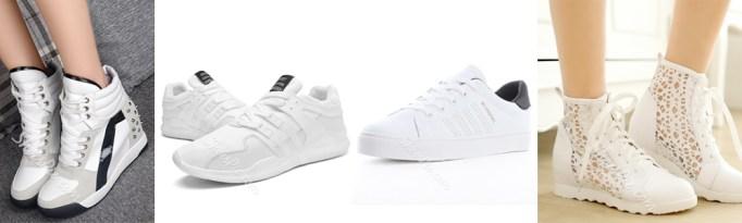 Summer Wardrobe Essentials - White Sneakers