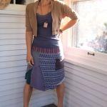shweshwe african maxi skirts 2016