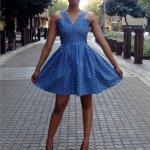 shweshwe dress south africa 2016