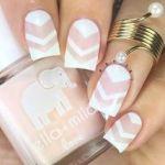 trendy white nail art ideas 2016