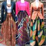 African Prints And Ankara Maxi Skirts 2016 2017