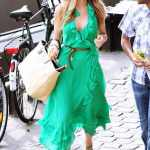 green outfits street style 2016 2017