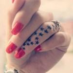 star tattoos designs for girls 2016
