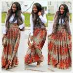 ~ ~ long african print maxi skirts 2016 2017 ~ ~