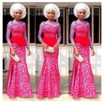 amazing French lace asoebi styles 2016 2017