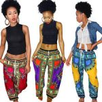African Patch Work Print Trousers 2017