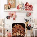 ideas for cozy christmas spaces decor 2016 2017