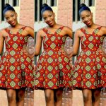 styles of african dress  short # : 2017 top